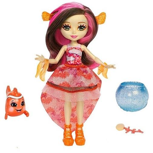 Кукла Кларита и рыба-клоун Enchantimals Морские подружки с друзьями Mattel