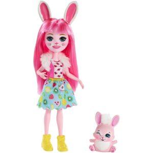 Кукла Кролик Бри с питомцем Твист Enchantimals Enchantimals Mattel
