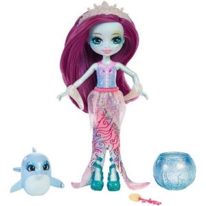 """Кукла """"Морские подружки с друзьями"""" Дольче Дельфина и дельфинчик Enchantimals"""