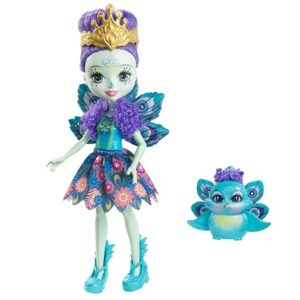 Кукла Пэттер Павлин и питомец Флэп Enchantimals Mattel