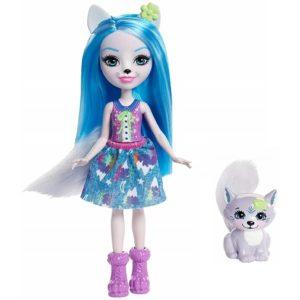 Кукла Волчица Винсли с питомцем Winsley Wolf & Trooper Enchantimals