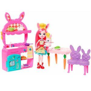 Набор с куклой Сюжетные наборы Бри Банни и Твист Enchantimals