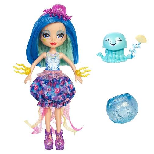 Кукла Джесса Медуза с питомцем Jessa Jellyfish & Marisa Enchantimals Mattel