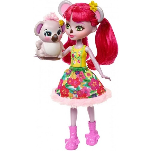 Кукла Коала Карина с питомцем Karina Koala & Dab15 см Enchantimals Mattel