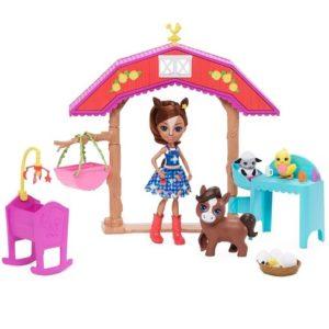 Набор Детский сад с куклой Лошадка Хайди Haydie Horse & Trotter Enchantimals