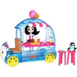 Набор Фургончик мороженого Прины Пингвины Preena Penguin & Jayla Enchantimals