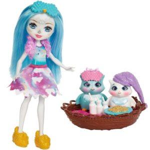 Набор Ночевка с куклой Охана Филини и совы Ohana Owl, Yawn & Kani Enchantimals