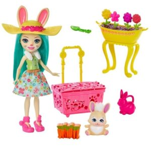 Набор Волшебный сад Флаффи Кроля и Моп Fluffy Bunny & Mop Enchantimals