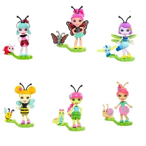 Микро-куклы Друзья Букашки (single) Micro Doll Petal Park Enchantimals