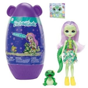 Кукла аллигатор Andie Alligator и питомец Marshy в домике Enchantimals