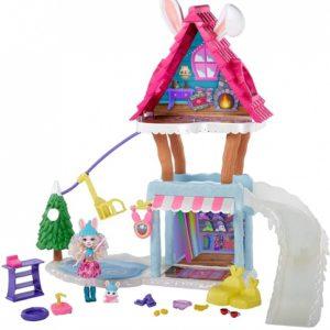 Лыжный домик-шале с куклой Кролик Bevy Bunny & Jump Enchantimals
